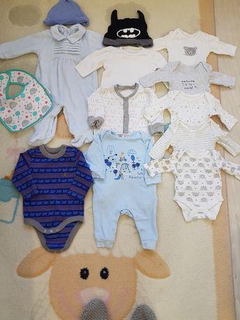 Вещи на мальчика 0-12 бодики,человечки,шапочки
