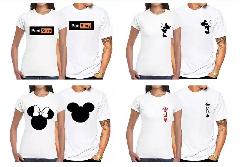 Koszulki dla Par Walentynki Zakochanych King Queen S M L XL XXL Kraków - image 1