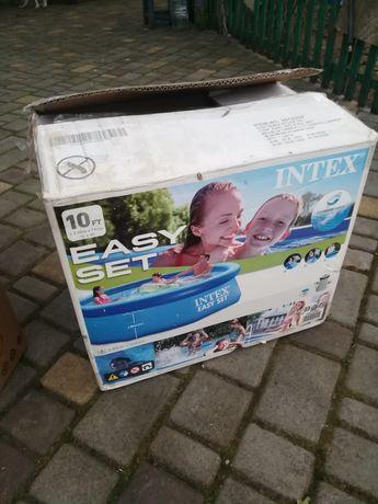 Надувной наливной бассейн Easy Set Intex 28122  (305*76 см) с фильтром