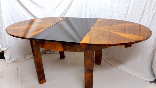 Stół Art DECO duży rozkładany  po renowacji