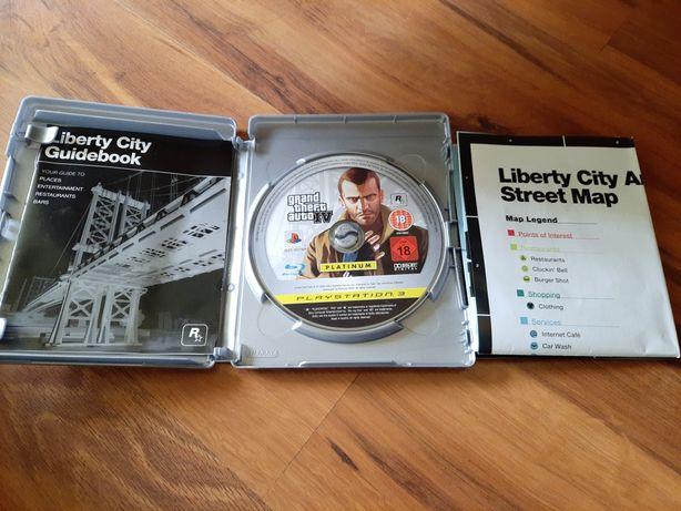 Sprzedam grę GTA 4 na PS3