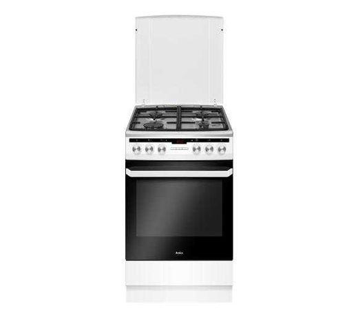Nowa kuchenka gazowa z piekarnikiem elektryczny Amica 58GES2.33HZPTAAQ
