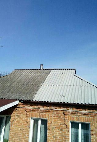 Мойка крыш ,заборов,тротуарной плитки.