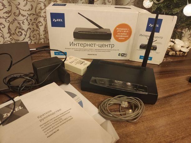 Маршрутизатор-роутер Wi-Fi ZyXEL P660HTW2 EE