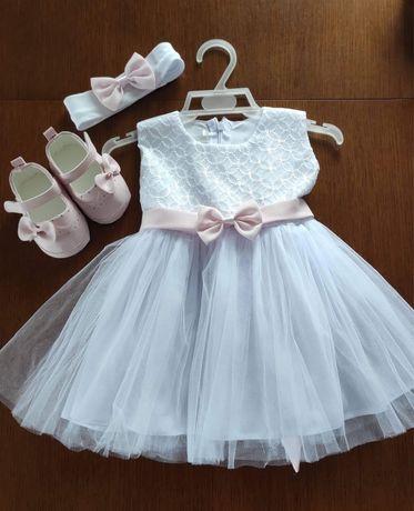 Sukienka do chrztu rozmiar 68