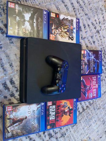 PlayStation 4 1 Tb + gry