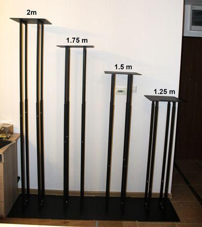 Tower towery trawers stojaki pod głowy 200 cm z możliwością regulacji