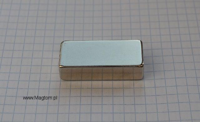 Magnesy Nedoymowe 40x18x10 N45 bardzo silny magnes na magnetyzer pojaz