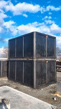 Studnia komora wodomierzowa studzienka piwniczka betonowa wysoka 8m3