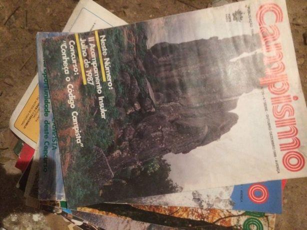 13 revistas ''campismo