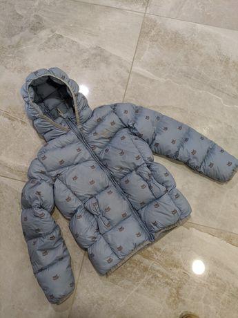 Пуховик куртка для девочки texstar 140см пуховка курточка пуховичок