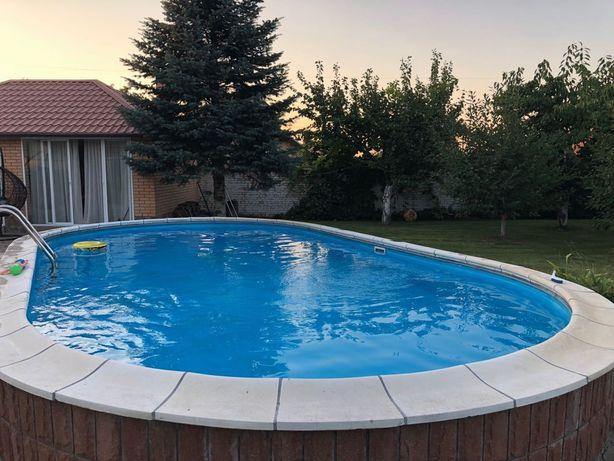 Аренда коттеджа 300м2 с бассейном -Пуще Водице 25 соток двор зеленый !