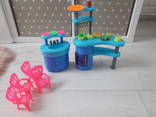 Игровой набор кухня для барби аксесуари
