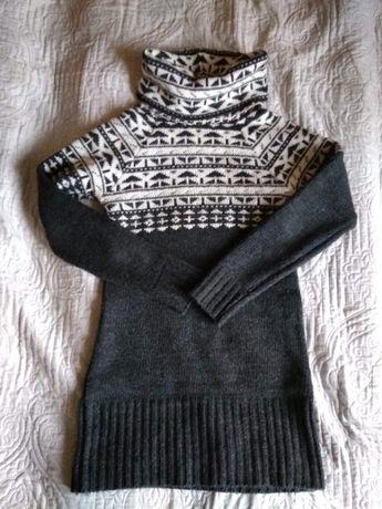 Ciepły sweter na zimę/ golf