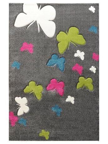 NOWY Dywan Motylki Butterfly 120x170 Milutki w dotyku!!