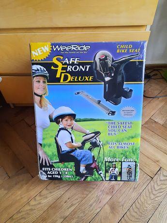 WeeRide Deluxe fotelik przedni na rower