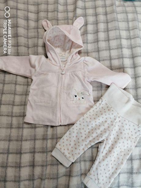 Костюм H&M для девочки, штанишки и кофточка