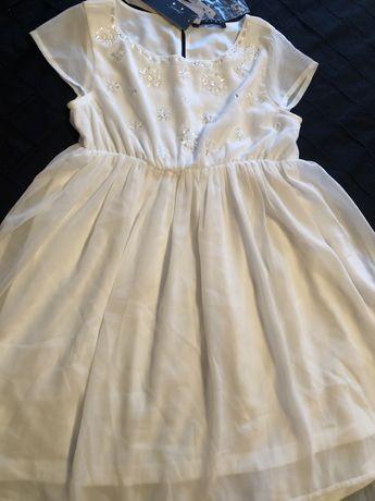 Vestido Sisley t6/7 anos