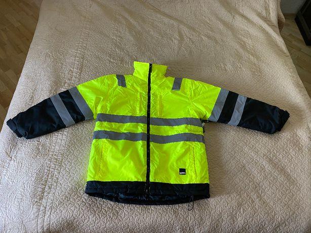 Рабочая светоотражающая куртка с подкладкой