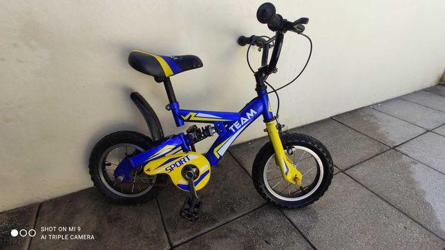 Bicicleta infantil com/sem roda de apoio lateral