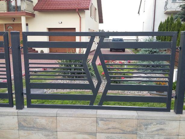 Nowoczesne ogrodzenia metalowe, produkcja ogrodzeń, bramy, konstrukcje
