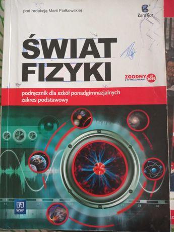 """Podręcznik do fizyki """"świat fizyki"""""""