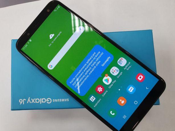 Samsung Galaxy J6 2018 Dual SIM/ 3GB/32GB/ Czarny/ Gwarancja/ Gdynia