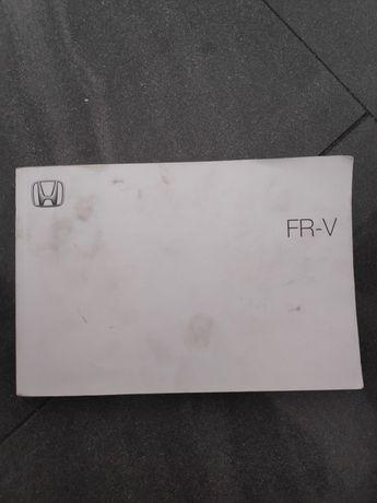 Honda FR-V instrukcja obsługi niemiecka FRV + dodatki