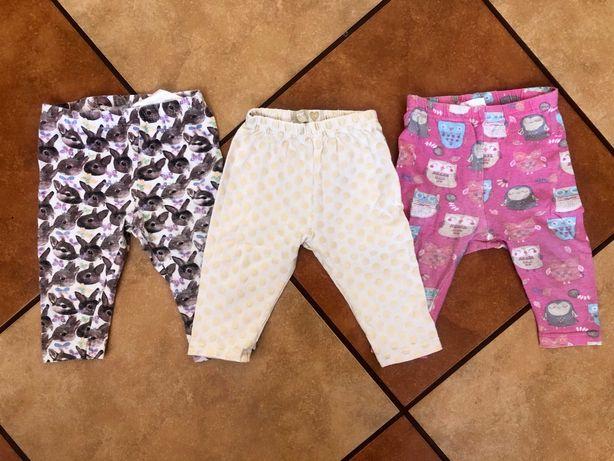3 szruki legginsow dla dziewczynki
