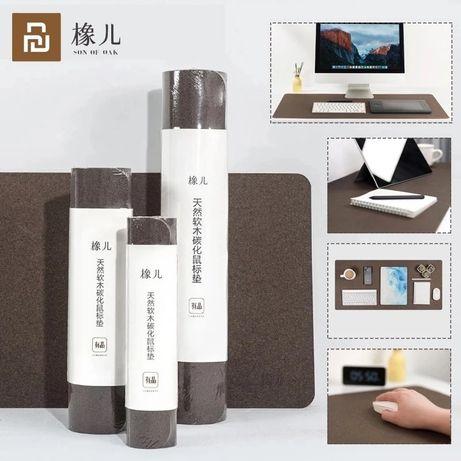 Натуральный пробковый коврик Xiaomi под гаджеты 42*90см.