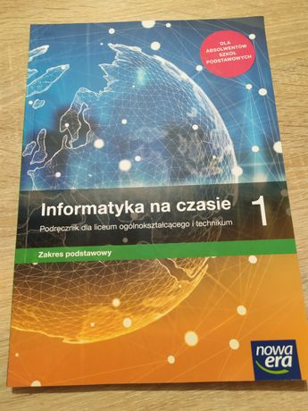 Podręcznik do informatyki szkoła średnia