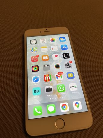 iPhone 6s plus silver 128 GB ideal