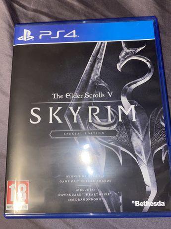 The elder scrolls V SKYRIM specjal edition PS4