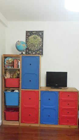 Conjunto móveis para quarto ou escritório