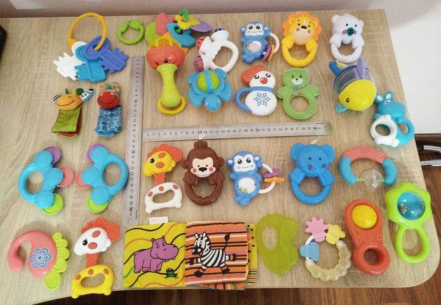 Набор игрушек для детей до 1 года (28 штук)
