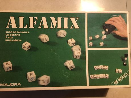 Alfamix - jogo raro Majora