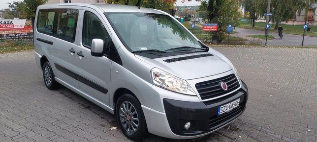 Fiat scudo 9 osób   long bezwypadek serwis