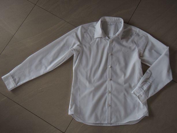 Koszula galowa wizytowa biała 164 cm (13-14 lat) M&S lub 38