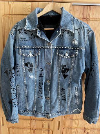Женская Утепленная джинсовая куртка Ermanno Scervino