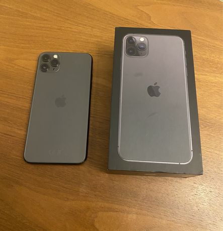 Iphone 11 pro max - space grey 64gb