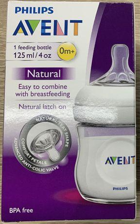 Бутылочка для кормления Philips Avent Natural, 125 мл