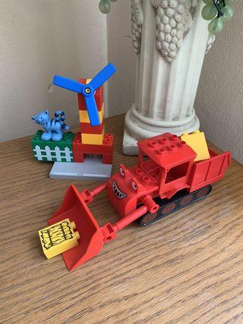Klocki lego duplo seria Bob spchacz wiatrak kot klocki tematyczne