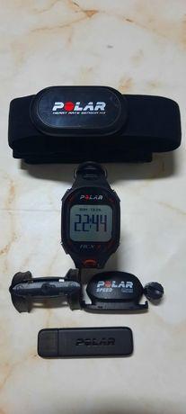 Relógio polar rcx3 bike