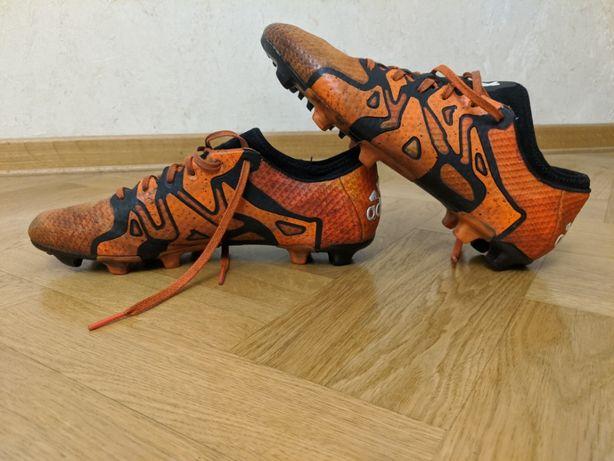 Футбольные бутсы Adidas X 15.3 Leather