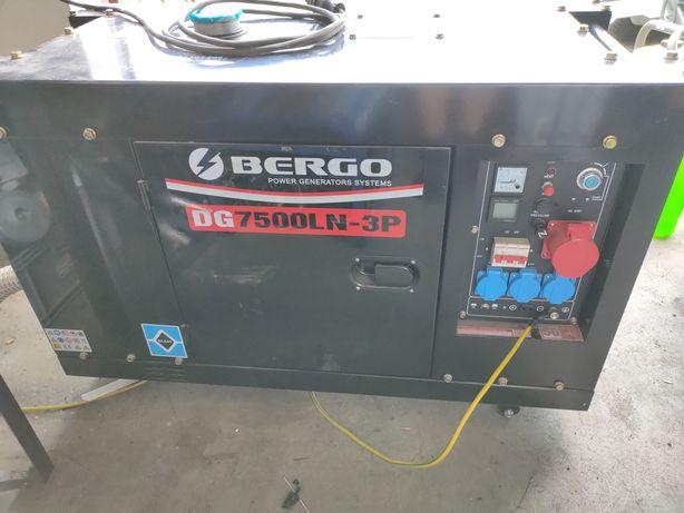Agregat prądotwórczy 3 fazy diesel 9kVA wyciszony.