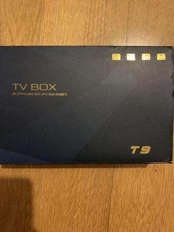 Tv Box Android 8.1 T9 4G Ram Nova