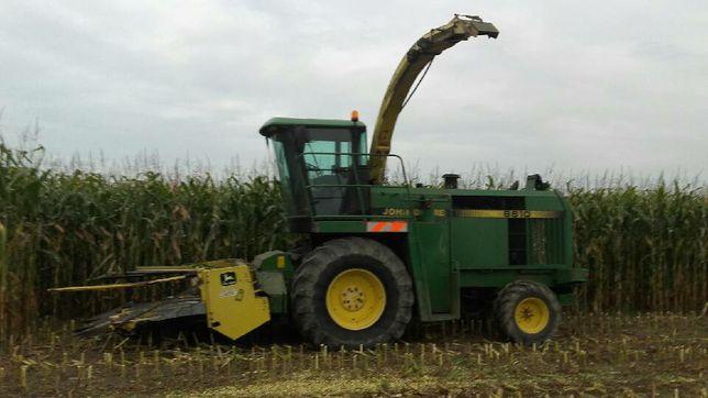 Sieczkarnia do kukurydzy john deere 6610