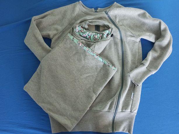Bluza dla dwojga do noszenia z kominem Greyse r. 40-42