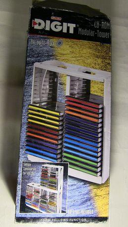 Новый Бокс на 40шт DVD\CD с коробкой