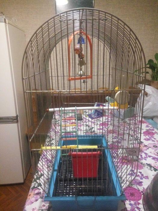 Клетка большая для птиц. Не дорого. Черкассы - изображение 1